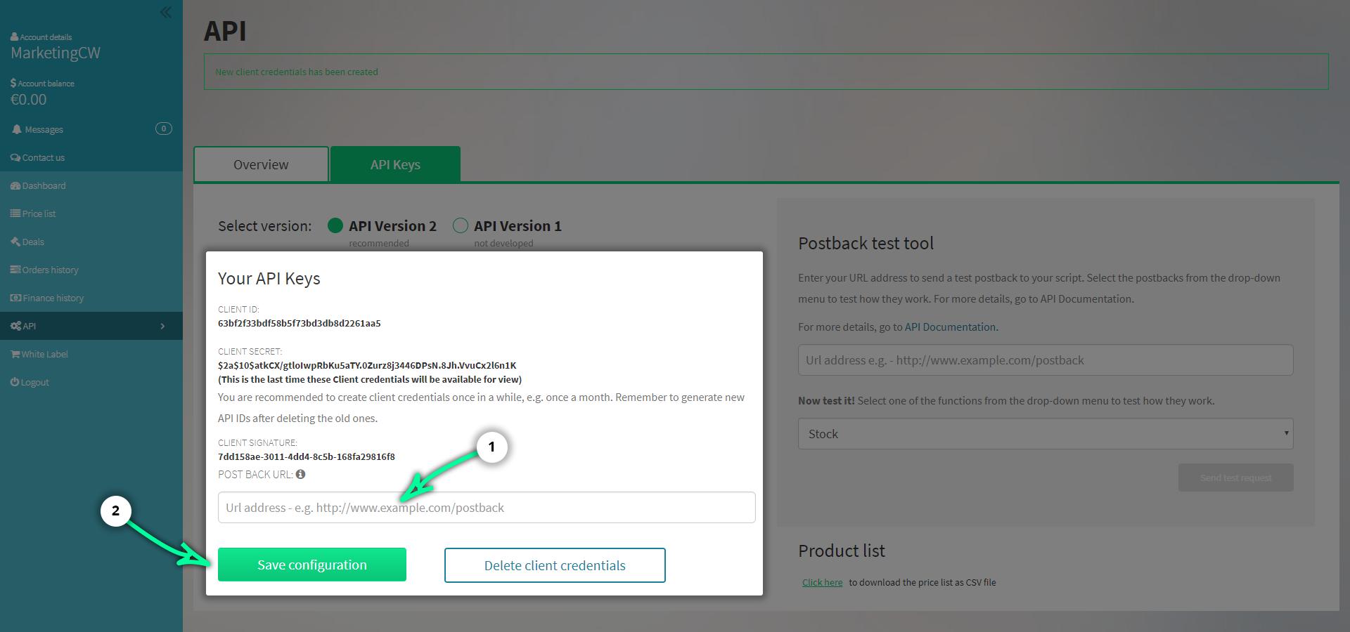CodesWholesale API update