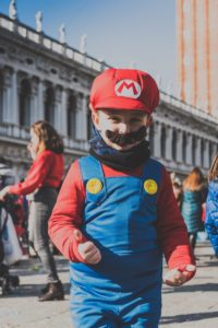 super mario costume for kids as one of ecommerce product ideas