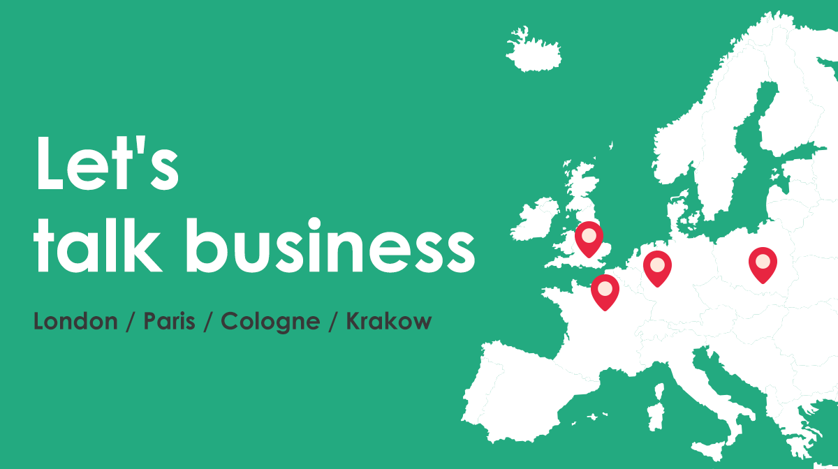 Meet CodesWholesale team during one of the four big upcoming events in Europe!