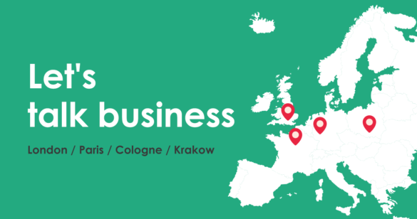 ecommerce trade fairs map