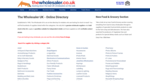 wholesale directories screenshots - thewholesaler.co.uk