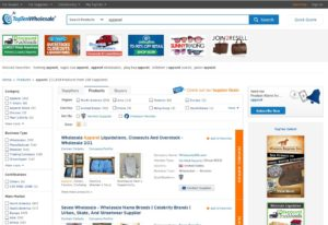 wholesale directories screenshots - toptenwholesale.com