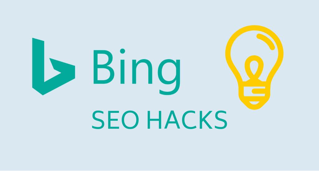 Bing SEO Hacks