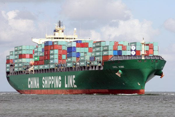 china shipping line ship